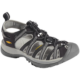 Keen Whisper Sandalen Dames, black/neutral gray